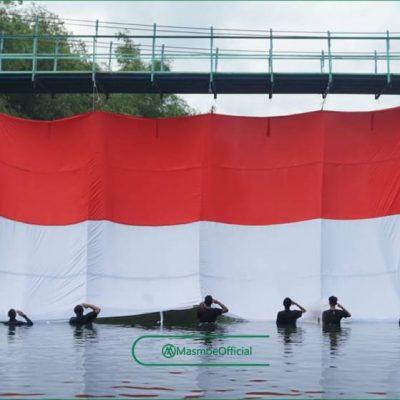 Menilik Balik Aksi Pembentangan Bendera Merah Putih di Bembem Agustus Lalu
